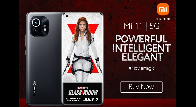 Xiaomi teams up with Marvel Studios for Black Widow campaign