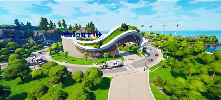 Carrefour rewards Fortnite players for (virtual) healthy eating