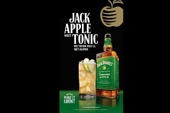 Jack Daniel's launches scented outdoor ads for Tennessee Apple drink