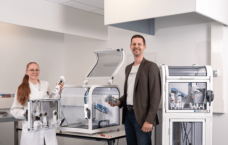From personalised drugs to human spare parts: Brinter gets €1.2m for 3D printing bioscience research