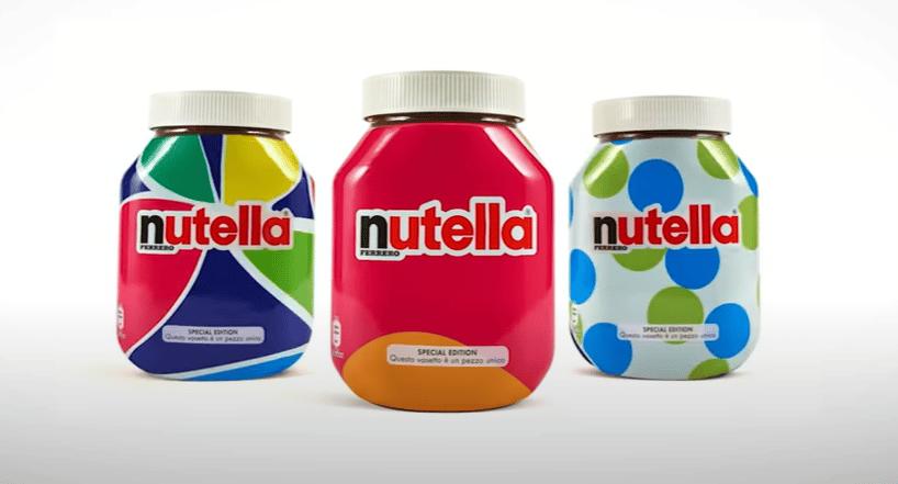 AI case study: Nutella create unique product designs – at scale